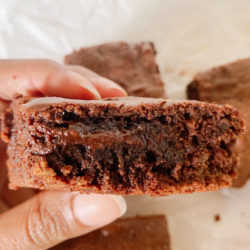 Flourless Fudgy Brownies (Gluten Free, Grain Free, Dairy Free)
